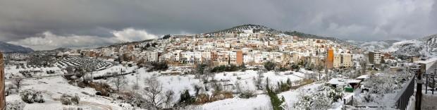 panoramica pueblo nevado 8 enero 2010